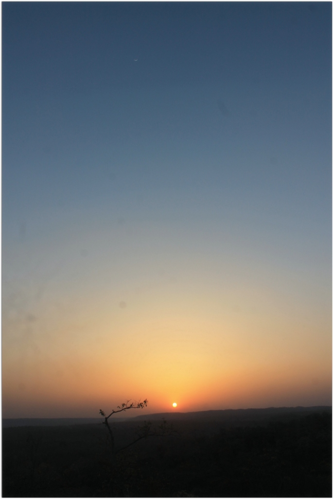 Sunset at Kanha