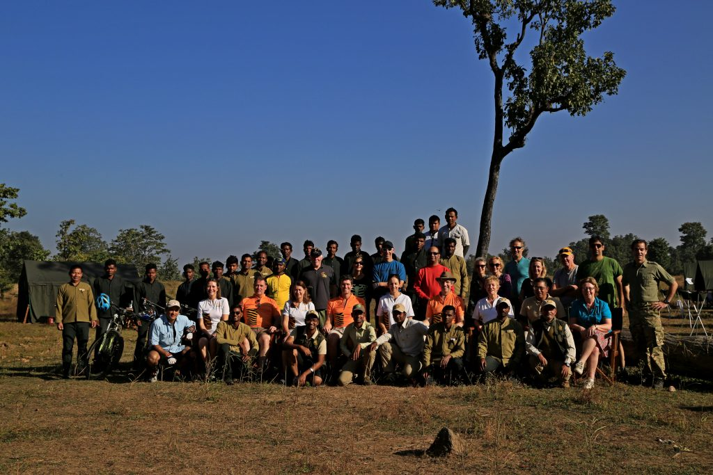Camp 2 - Group Photo stop before departure for final day of cycling