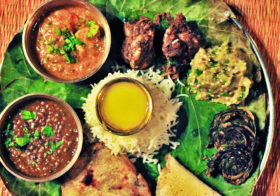 Gond Thali – Local Food of Kanha