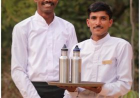 Reduction of Plastic Bottled Water : A Pugdundee Safaris Initiative