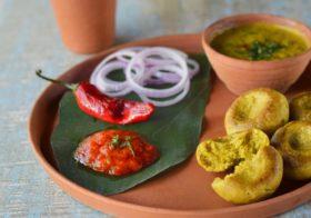 Dal Bafla : The Unique Dish  from Central India.
