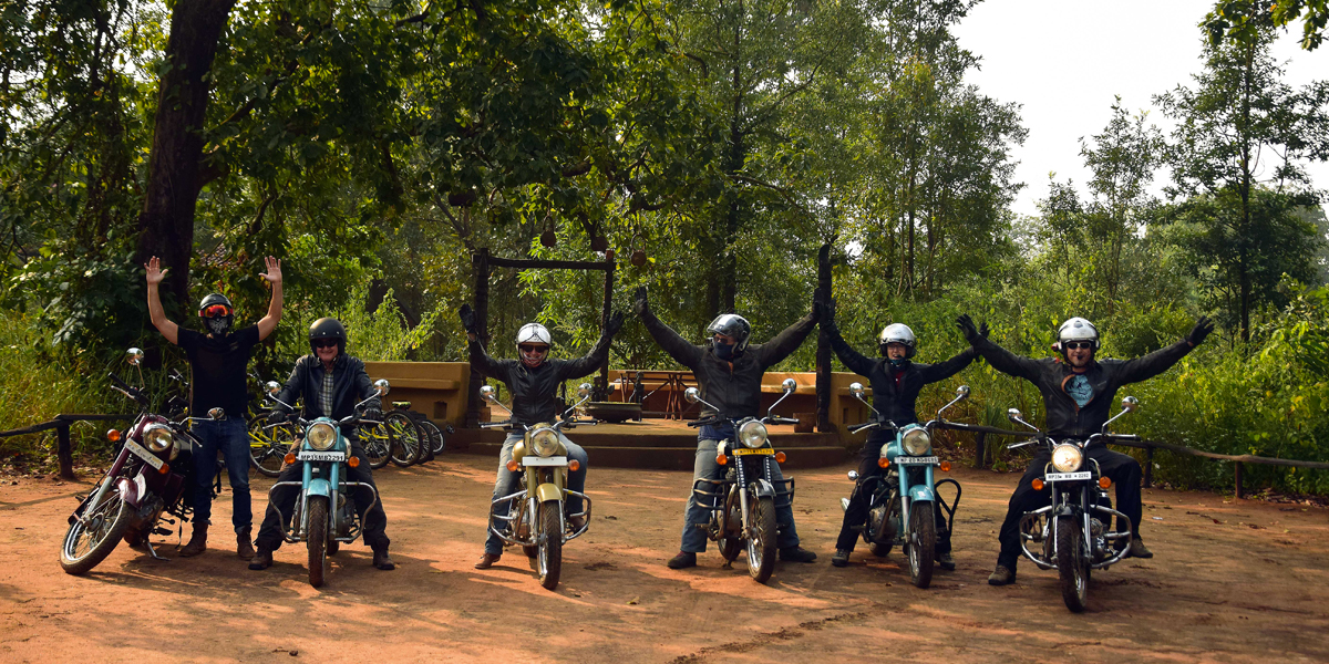 MOTORCYCLE TOURS THROUGH CENTRAL INDIA PARKS
