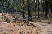 Cycling in pench national park