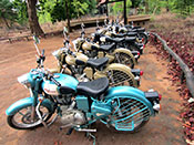 Royal enfield tours india