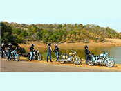 Biking tours in india